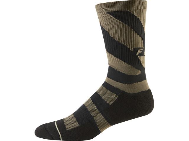 """Fox 8"""" Trail Cushion Socks Men navy/orange"""